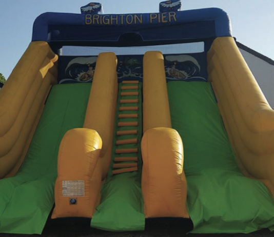 Brighton Pier, health and safety, inflatables, brighton, woking