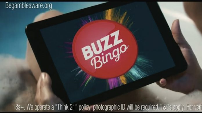Buzz Bingo campaign