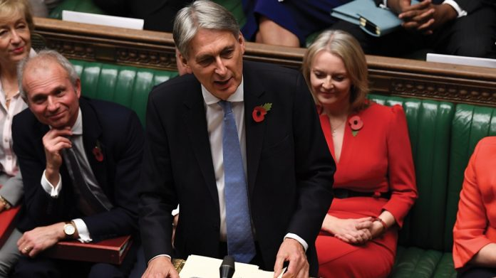 Chancellor Philip Hammond budget speech FOBT stake cut
