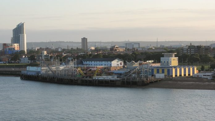 Clarence Pier winter