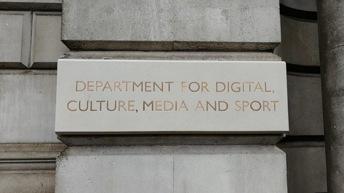 DCMS plaque Mims Davies appointed