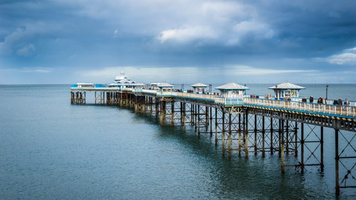 Llandudno Pier, growth, economic boost, economy