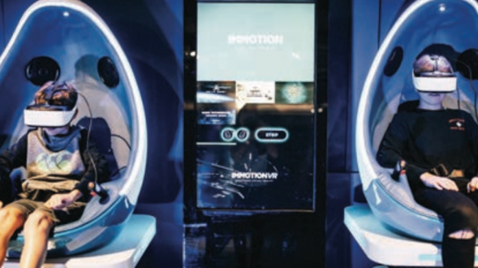 Grand Pier, Immotion, VR, VR experience