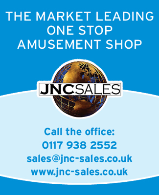 JNC Sales One Stop Amusements SB