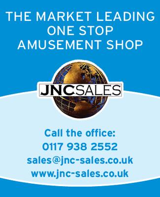 JNC Sales One Stop Amusements SB