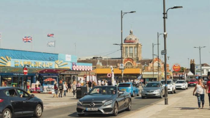 Philip Miller, Southend, high street, seaside, amusement