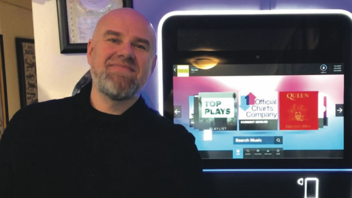 TouchTunes, jukebox, angelina, toby hoyte