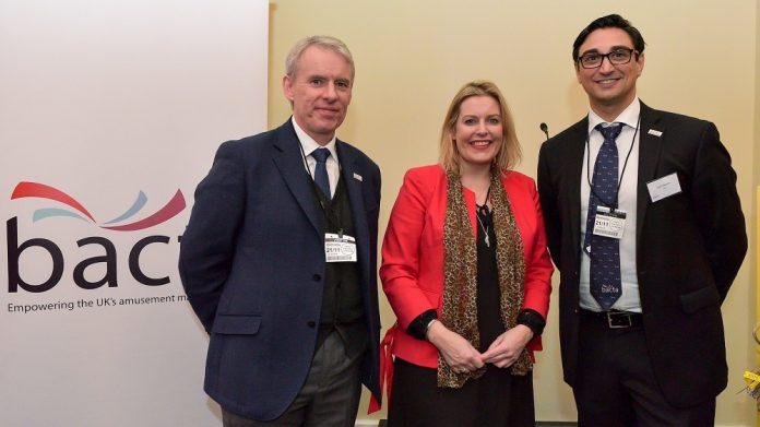 Bacta Delegation meet Gambling Minister Mims Davies