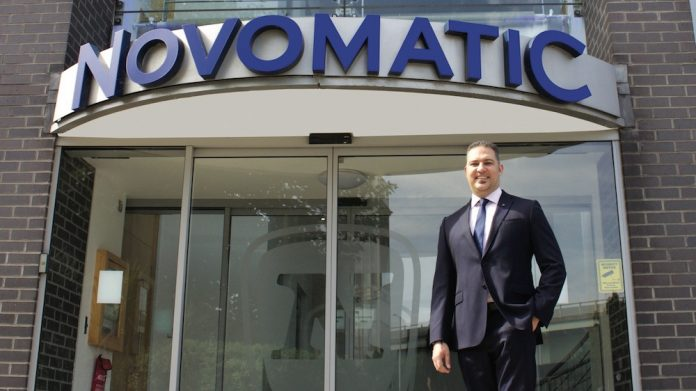 Novomatic UK Zane Mersich