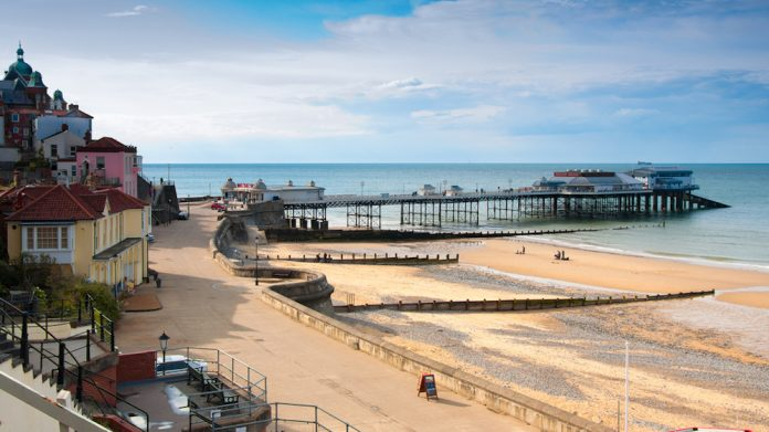 Cromer Pier, restoration, underway, project, seaside
