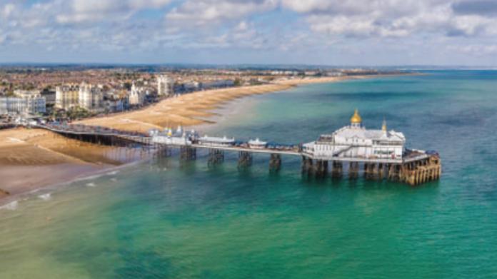 Eastbourne, seaside, town-centre, industry, uk