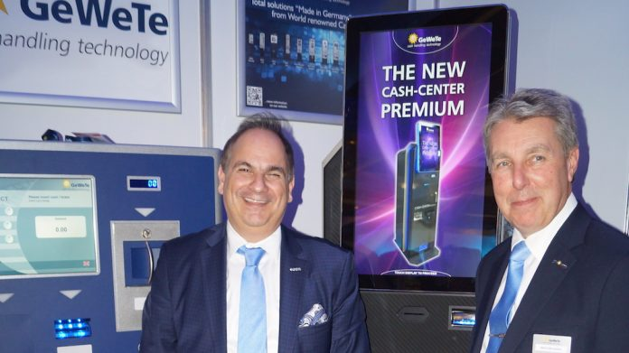 GeWeTe, launches, Cash-Center-Premium, Irish market, Gauselmann subsidiary, redemption machines