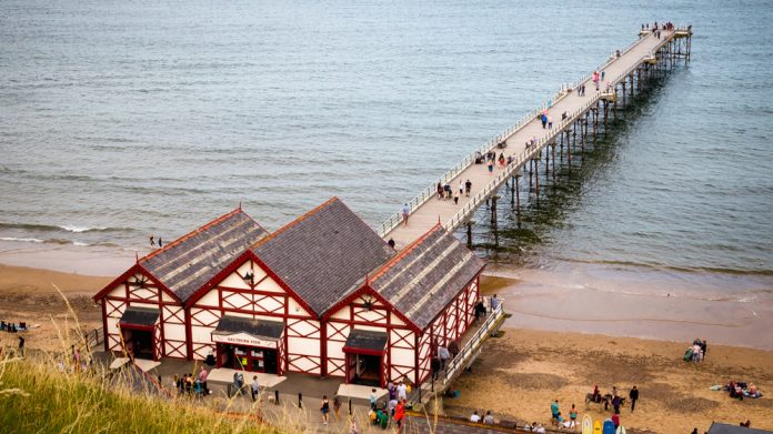 Saltburn Pier, Victorian volunteers, birthday, celebrations
