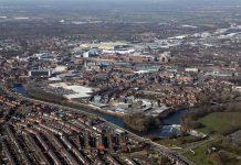 Warrington, new arcade, superbowl uk, golden square shopping centre