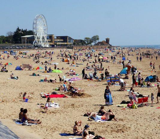Exmouth coastal Seaside Beach