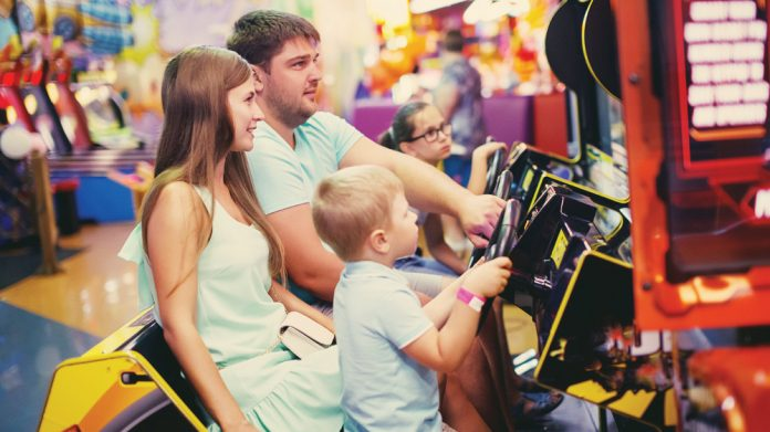 Family arcade video Tickets2Wishes