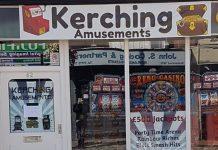 Kerching Amusements Eastwood Arcade Front
