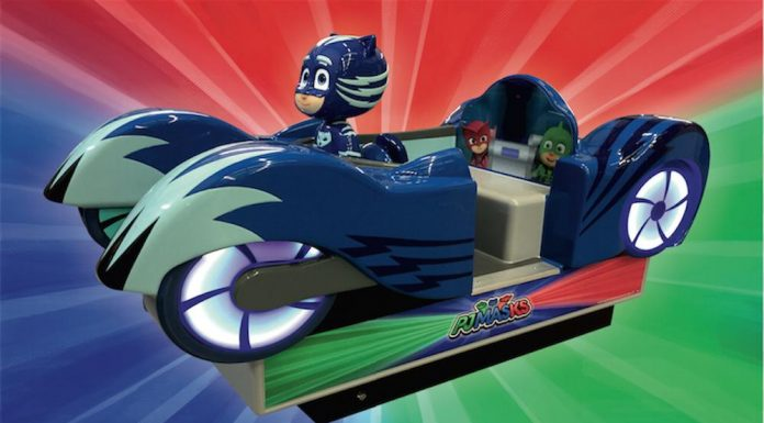 Kiddy Rides, launch, PJ Masks, UK ride manufacturer