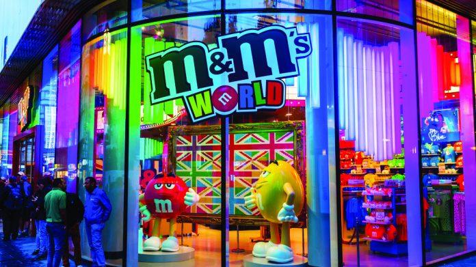 M&M's shop front