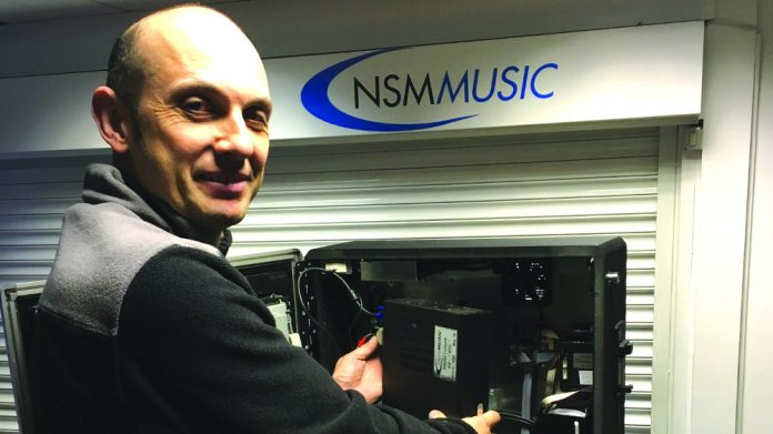 NSM Music Jukebox Conversion