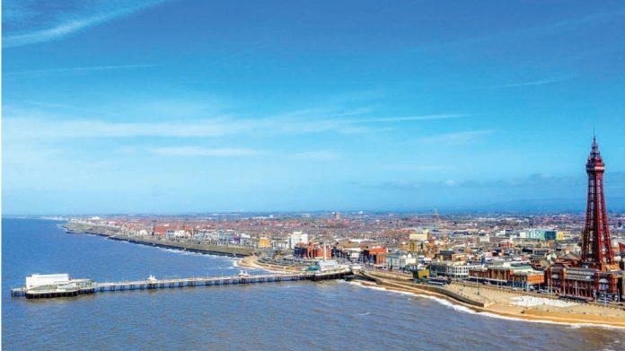 Seaside Blackpool Tower North Pier