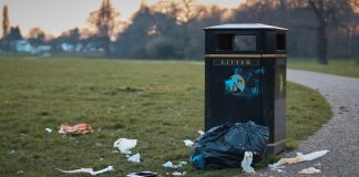 Sefton Council, weekend, litter, problem