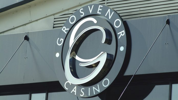 Grosvenor Casino signage