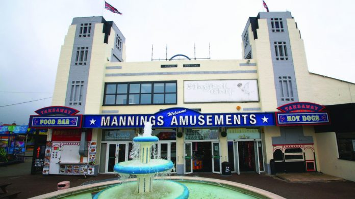 Mannings Amusements Felixstowe