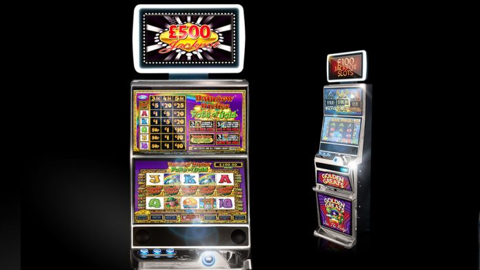 SG Gaming T8 Cabinet Scientific Games