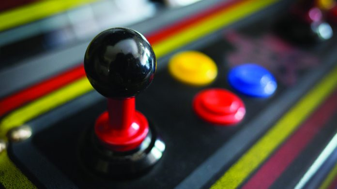 Bandai Namco Retro Video Cabinet Joystick Buttons