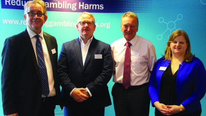 Commission debuts gambling harm cardiff