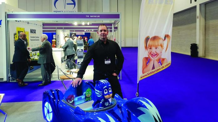 Gareth Jones Production manager Northern Leisure Group T/A Kiddy Rides