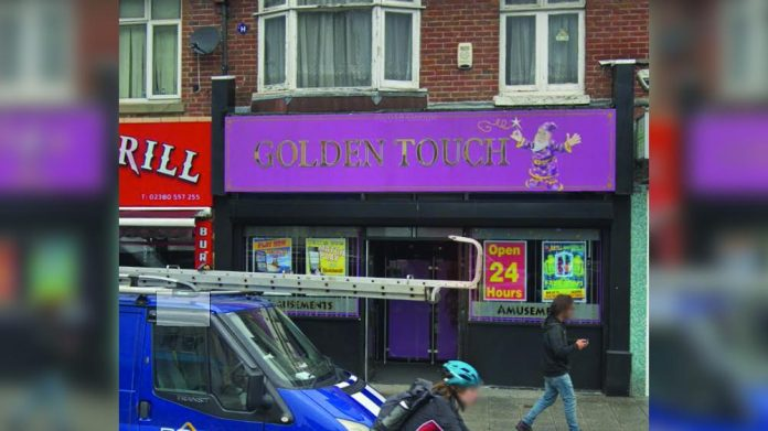 Golden Touch Southampton robbery