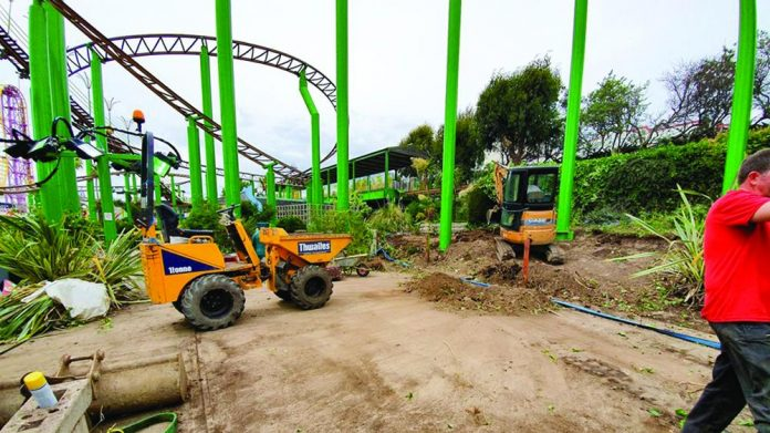 Adventure Island refurbishment