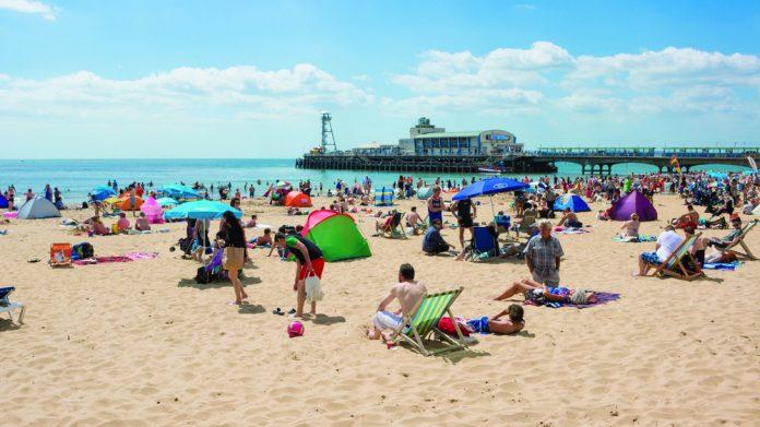 Bournemouth seaside beach ranking
