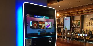 TouchTunes Angelina 36 charts jukebox