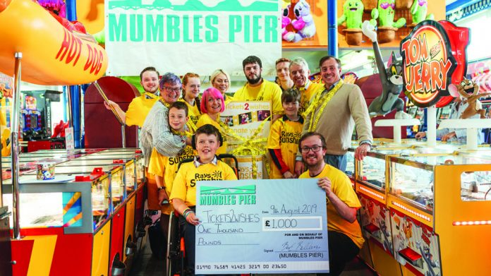 Mumbles Pier fun day Tickets2Wishes