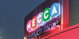 Mecca signage Rank Group