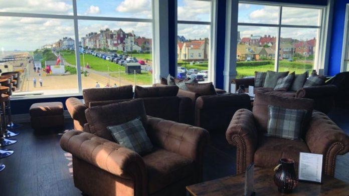 Southwold Pier bar view