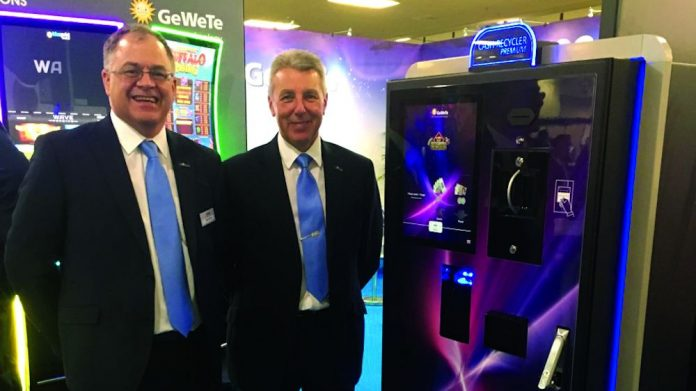 GeWeTe cash recycler launch