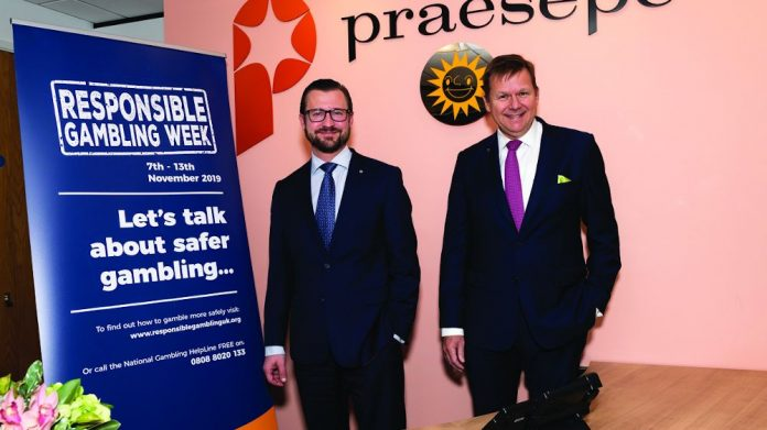 Praesepe responsible gambling week