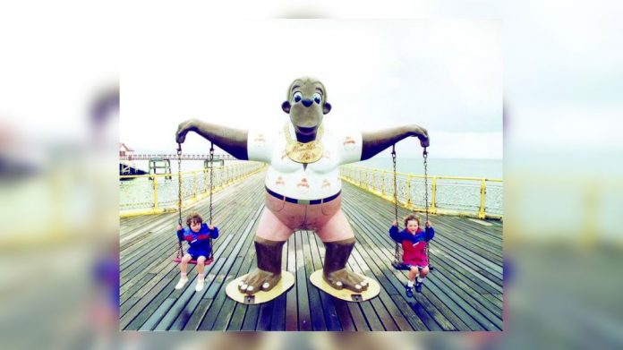Ameco Restoration Mumbles Pier mascots