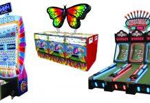 Harry Levy EAG Plinko Butterfly Skee Ball