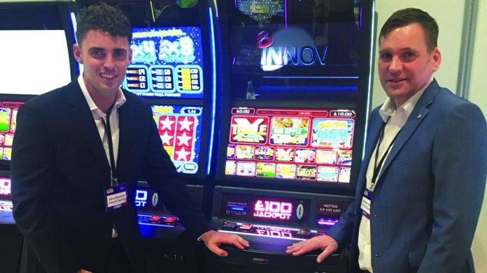 Innov8 Gaming launch new AGC menu EAG 2020
