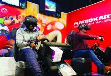 BNAE Mario Kart VR Funscape