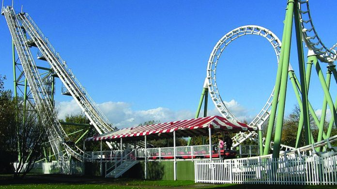 Pleasure Island Boomerang ride