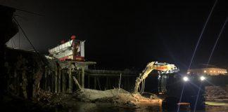 clacton pier damage