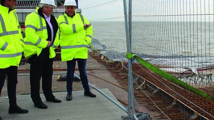 Clacton Pier rebuild project