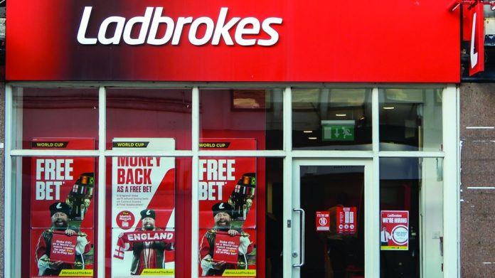 Ladbrokes Coral shop front GVC Holdings