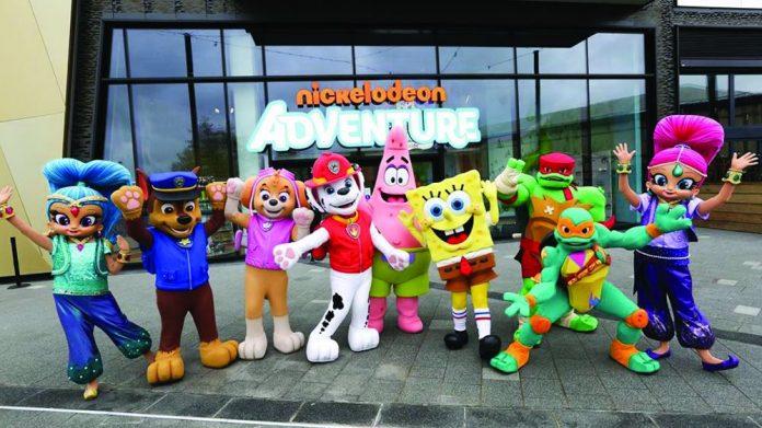 Nickelodeon Adventure lakeside opening
